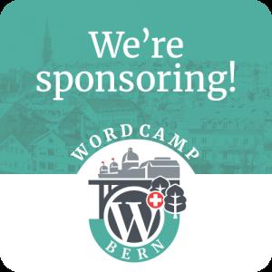 We're sponsoring!