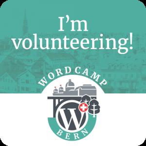 I'm volunteering!